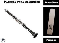Palheta Para Clarinete Shield Tradicional