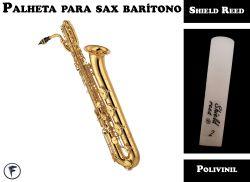 Palheta Para Sax Barítono Shield Tradicional