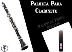 Palheta Para Clarinete (Dark)
