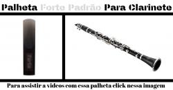 Palheta Para Clarinete Forte Padrão
